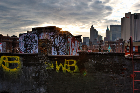 Sunset Graffiti
